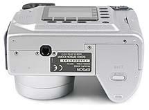 Epson PhotoPC 3000Z Unterseite [Foto: MediaNord]