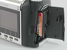 Epson PhotoPC 850Z Detail Kartensteckplatz [Foto: MediaNord]