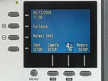 Epson PhotoPC 850Z Detail Menübedienung [Foto: MediaNord]