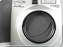Epson PhotoPC 850Z Detail Objektivschutz [Foto: MediaNord]