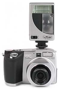 Epson PhotoPC 850Z mit Metz Mecablitz 34CS [Foto: MediaNord]