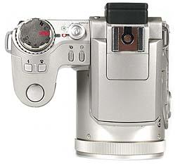 Fujifilm FinePix 4900 Zoom Oberseite [Foto: MediaNord]
