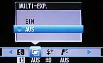 Fujifilm FinePix S20 Pro - Menü 3 [Foto: MediaNord]