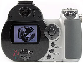 Konica Minolta Dimage Z3 - Rückseite [Foto: MediaNord]