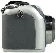 Konica Minolta Dimage Z3 - rechte Kameraseite [Foto: MediaNord]
