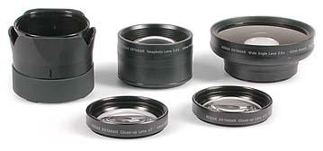 Optisches Zubehör für Kodak DC4800 [Foto: MediaNord]