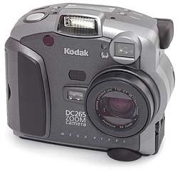 Kodak DC265 Frontansicht
