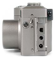 Kodak DC4800 Anschlüsse [Foto: MediaNord]