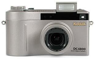 Kodak DC4800 mit Pop-Up Blitz [Foto: MediaNord]