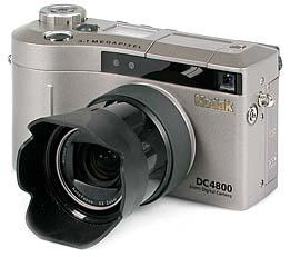 Kodak DC4800 mit Vorsatzobjektivadapter [Foto: MediaNord]