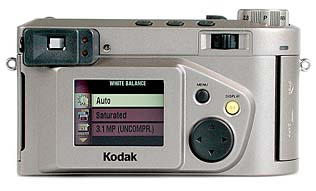 Kodak DC4800 Rückseite [Foto: MediaNord]