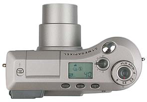 Kodak DC4800 Oberseite [Foto: MediaNord]