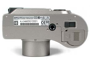 Kodak DC4800 Unterseite [Foto: MediaNord]