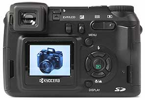 Kyocera Finecam M410R - Rückseite [Foto: MediaNord]