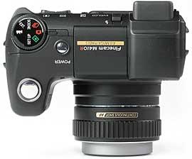 Kyocera Finecam M410R - oben [Foto: MediaNord]