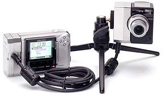 Minolta Dimâge EX ZOOM mit Verbindungskabel LC-EX1