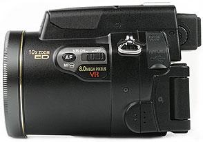 Nikon Coolpix 8800 - linke Kameraseite [Foto: MediaNord]