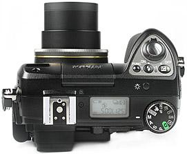 Nikon Coolpix 8400 - oben [Foto: MediaNord]