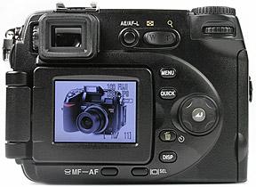 Nikon Coolpix 8400 - Rückansicht [Foto: MediaNord]