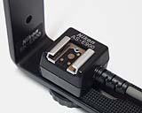 Nikon Coolpix 900s Blitzschiene Detail Blitzschuh [Foto: MediaNord]