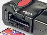 Nikon Coolpix 950 Detail CompactFlash-Steckplatz [Foto: MediaNord]