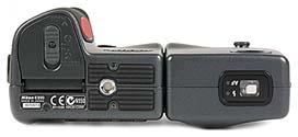 Nikon Coolpix 990 Unterseite [Foto: MediaNord]