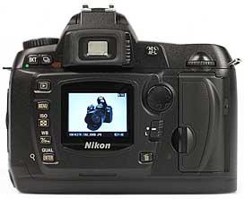 Nikon D70 - Rückseite [Foto: MediaNord]