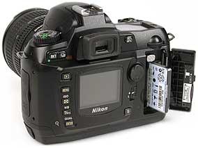 Nikon D70 - Speicherplatz [Foto: MediaNord]