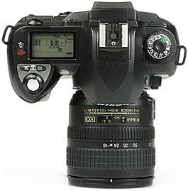 Nikon D70 - oben [Foto: MediaNord]