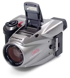 Olympus C-1400XL Frontansicht