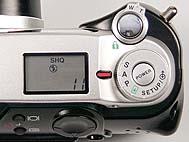 Olympus C-2000 Zoom Detail Bedienelemente