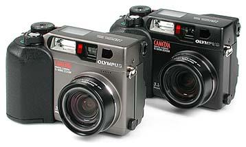 Olympus Camedia C-3000 Zoom und C-3030 Zoom [Foto: MediaNord]
