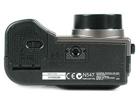 Olympus C-3000 Zoom Unterseite [Foto: MediaNord]