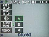 Olympus C-3040 Zoom - Menü 1 von 2 [Foto: MediaNord]