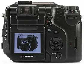 Olympus C-5050 Wide Zoom - Rückseite [Foto: MediaNord]