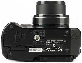 Olympus C-5050 Wide Zoom - unten [Foto: MediaNord]