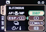Olympus C-8080 Wide Zoom - Menü 1 [Foto: MediaNord]