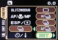 Olympus C-8080 Wide Zoom - Menü 2 [Foto: MediaNord]