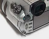 Sony DSC-D700 Detail Bedienelemente [Foto: MediaNord]