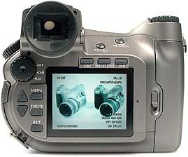 Sony DSC-D770 Rückansicht [Foto: MediaNord]