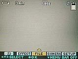Sony DSC-F505V Festlegung des Aufnahmemodus im On-Screen-Menü - Bild 1 von 3 [Foto: MediaNord]