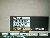Sony DSC-F505V Festlegung des Aufnahmemodus im On-Screen-Menü - Bild 2 von 3 [Foto: MediaNord]