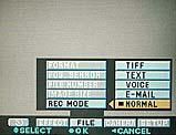Sony DSC-F505V Festlegung des Aufnahmemodus im On-Screen-Menü - Bild 3 von 3 [Foto: MediaNord]