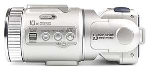 Sony DSC-F505V linke Kameraseite [Foto: MediaNord]