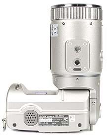Sony DSC-F505V Unterseite [Foto: MediaNord]
