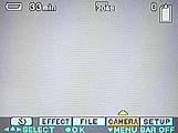 Sony DSC-S70 Einstellung für den Weißabgleich im On-Screen-Menü - Bild 1 von 4 [Foto: MediaNord]
