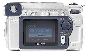 Sony DSC-S70 Rückseite [Foto: MediaNord]
