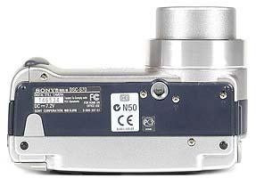 Sony DSC-S70 Unterseite [Foto: MediaNord]