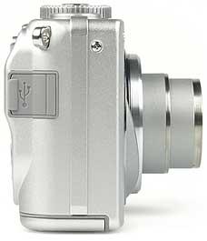 Sony DSC-W1- rechte Kameraseite [Foto: MediaNord]