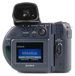Sony Mavica MVC-CD1000 Rückseite [Foto: MediaNord]